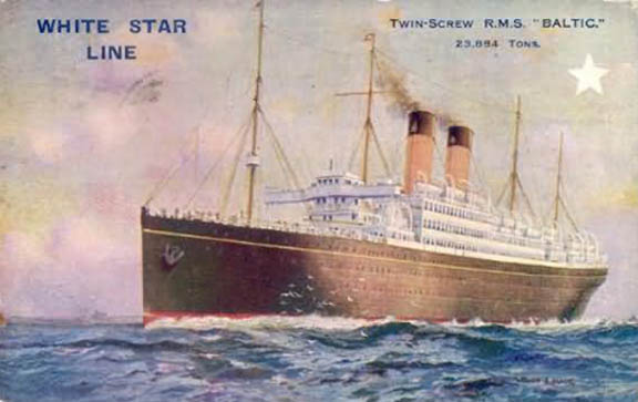 Emmigration From Scotland To Boston White Star Cunard
